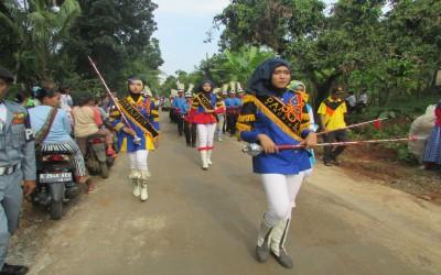 Syiar bersama Marching Band MA Darul Ulum Purwogondo di Sukosono